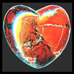 hearts′ empath ♥ brick-red ♥ brecciated jasper...