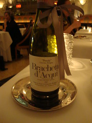 Brachetto d'Acqui:  Gift from a Friend