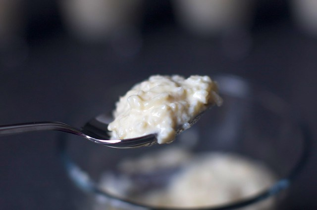 soft, creamy rice pudding
