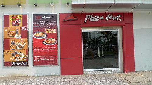 pizza hut, ho chi minh city