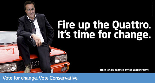 Tories Gene Hunt poster