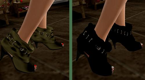 [M2M] Chloe Studded Ankle::..