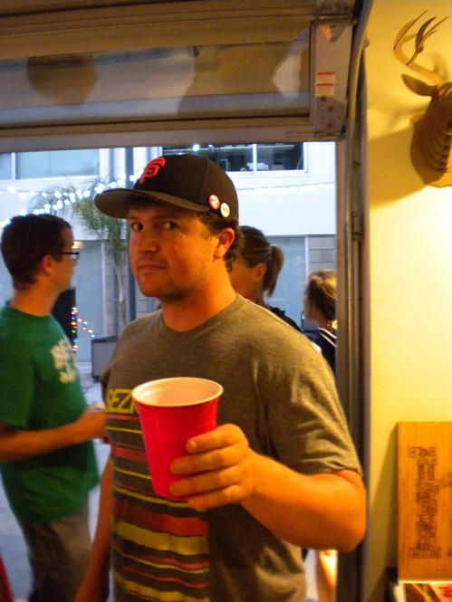 Zack Drinking