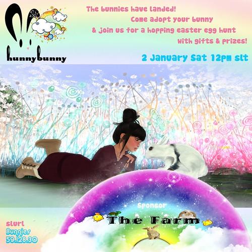 HunnyBunny Launch Invite