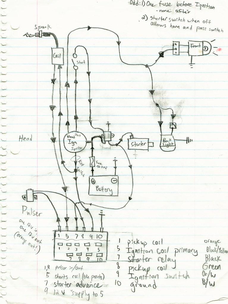 simple bobber wiring diagram