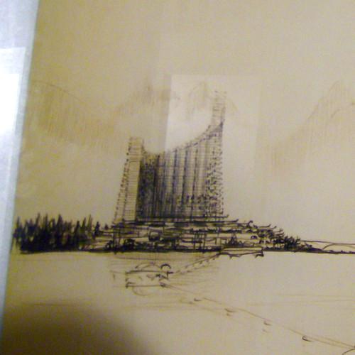 ARTHUR ERICKSON: PLAN 56 FOR THE WEST END, VANCOUVER , 1955 (DETAIL 2)