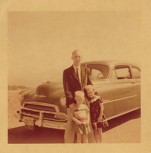 grandpa, john & mom