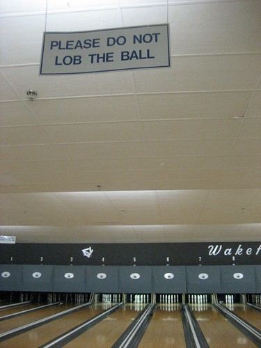 Please Do Not Lob The Ball