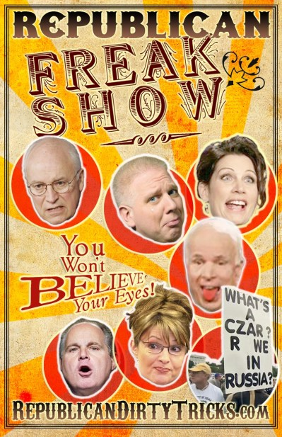 Republican Freak Show Image