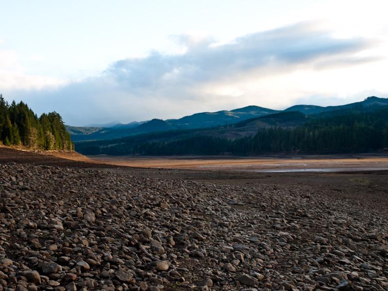 Dorena Lake in Winter