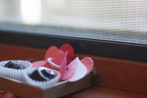 chocolate covered cherries.