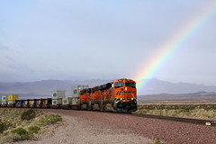 BNSF 6621 @ Siberia - Warren Buffet's Rainbow ...