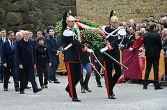 Roma: 66mo anniversario eccidio delle Fosse Ardeatine