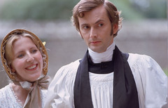 David Tennant and Fenella Woolgar in He Knew H...