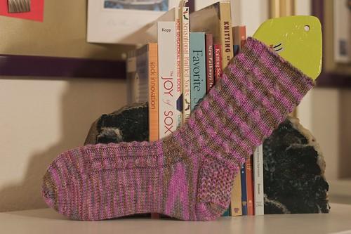 Socks 2010: April: first sock