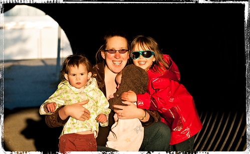 Family Portrait in Tunnel