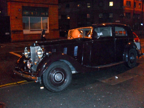 A Rolls on the pavement