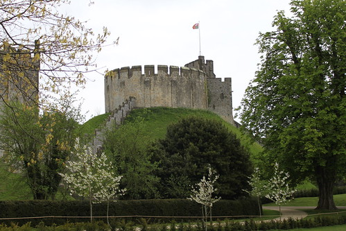 Arundel castle, mott & bailey