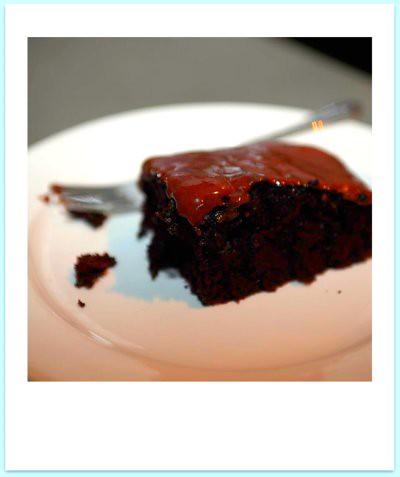 ridiculously good chocolate cake