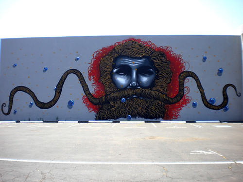 The Hive mural