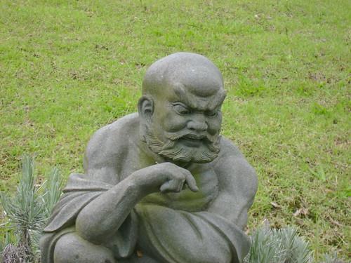 Templo Zu Lai - Monge bravo