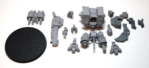 Forgeworld Chaos Dreadnought Pieces