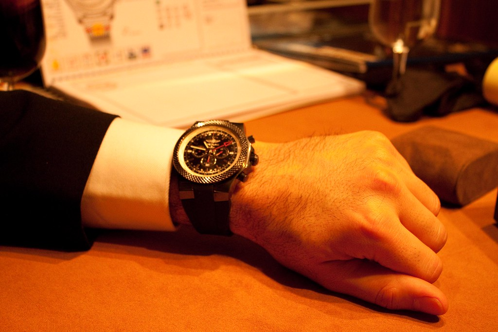 Breitling for Bentley GMT Limited Edition (Black case)