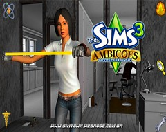 3/31/10 - The Sims 3 Ambitions wallpaper from SimTown