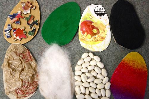 texture eggs