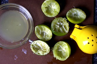 limes, used up