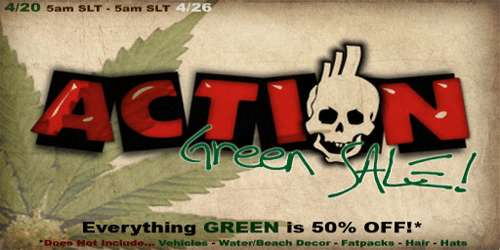 action green sale