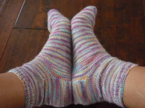my first ever socks 1