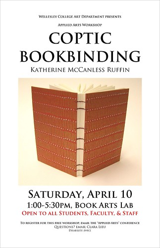 Coptic Bookbinding Poster