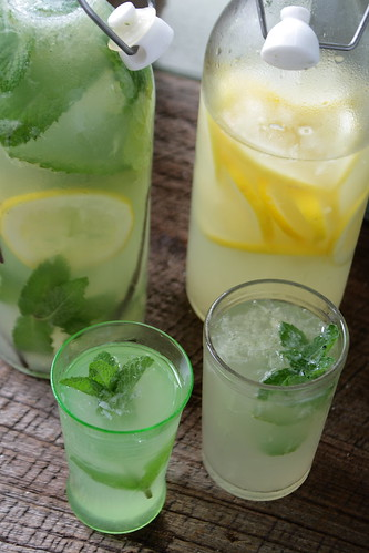 Homemade Herbal Lemonade