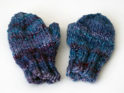 handspun mittens 1