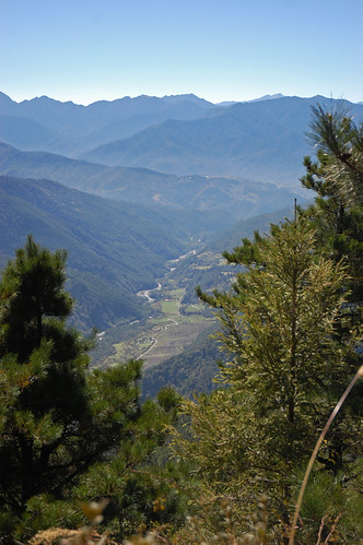 A great view of Wuling valley
