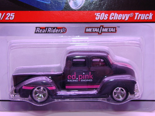 hw delivery 50s chevy truck