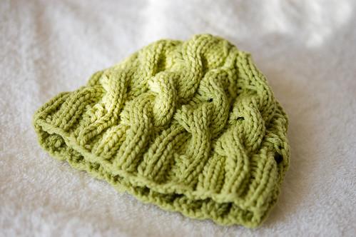baby hat! (by bookgrl)