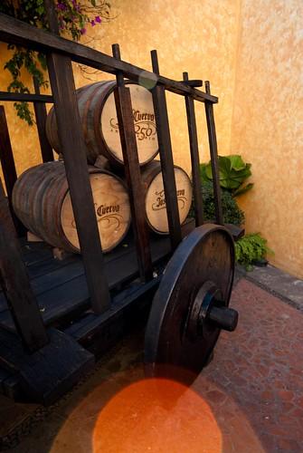 Carreta Barriles de Tequila