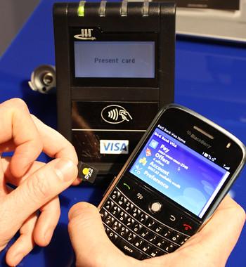 Visa sticks NFC into a microSD card
