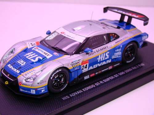 EBBRO HIS ADVAN KONDO GT-R SUPER GT 500 2009 RD.7 FUJI (3)