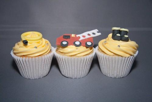 Cirencester Cupcakes - Fireman Cupcakes