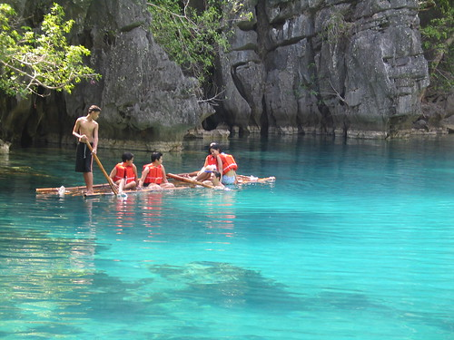 Kayangan Bamboo Raft