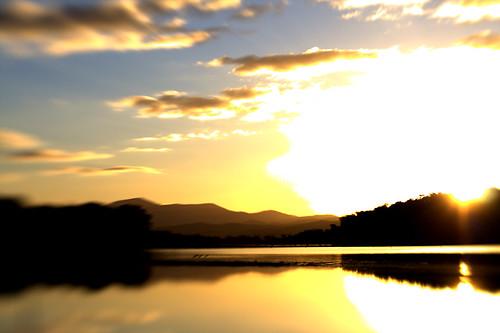 Moruya sunset.