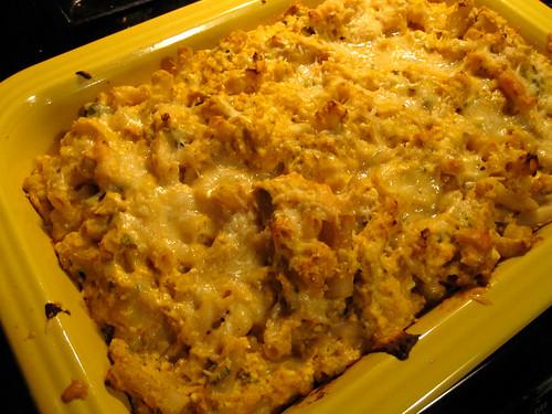 Pumpkin, Ricotta & Gruyere Pasta Casserole (gluten-free)