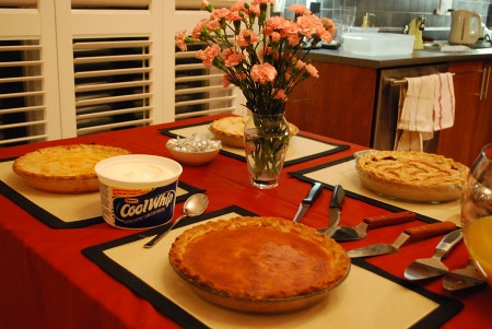 Pie on the Table