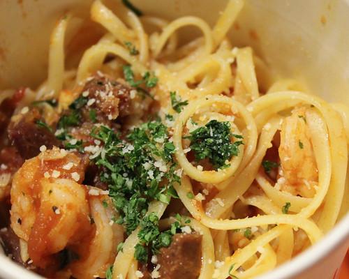 Garlic Shrimp and Chorizo at Goodles