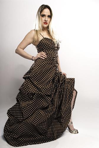 Kati Henshall rocking the dress at the Studio Lighting Photowalk