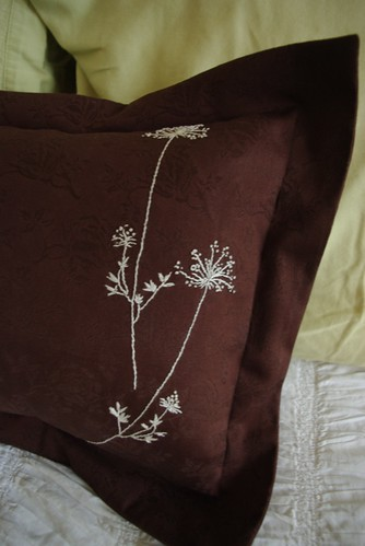 Queen Anne's Lace Embroidery
