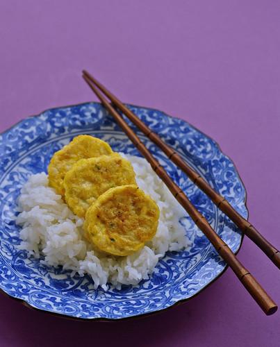Chicken tofu patties